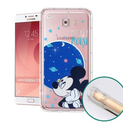 迪士尼正版 Samsung Galaxy C9 Pro 空壓安全手機殼(米奇)