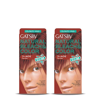 GATSBY無敵顯色染髮霜-酷型瑰紅-179gx2