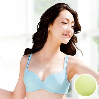 華歌爾-輕運動-Q-BRA-B-C罩杯內衣-活力綠