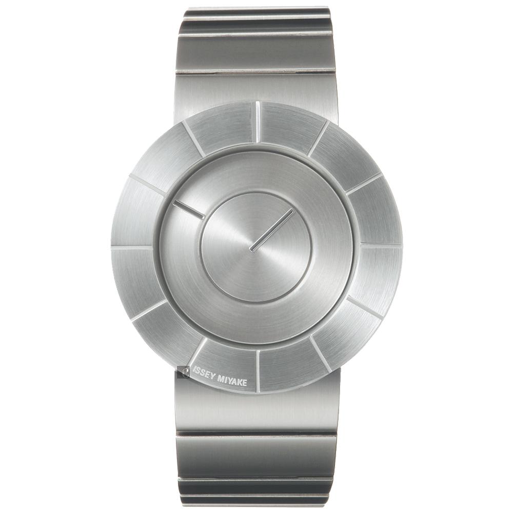 ISSEY MIYAKE TO系列極簡手錶(SILAN001Y)-銀/38mm