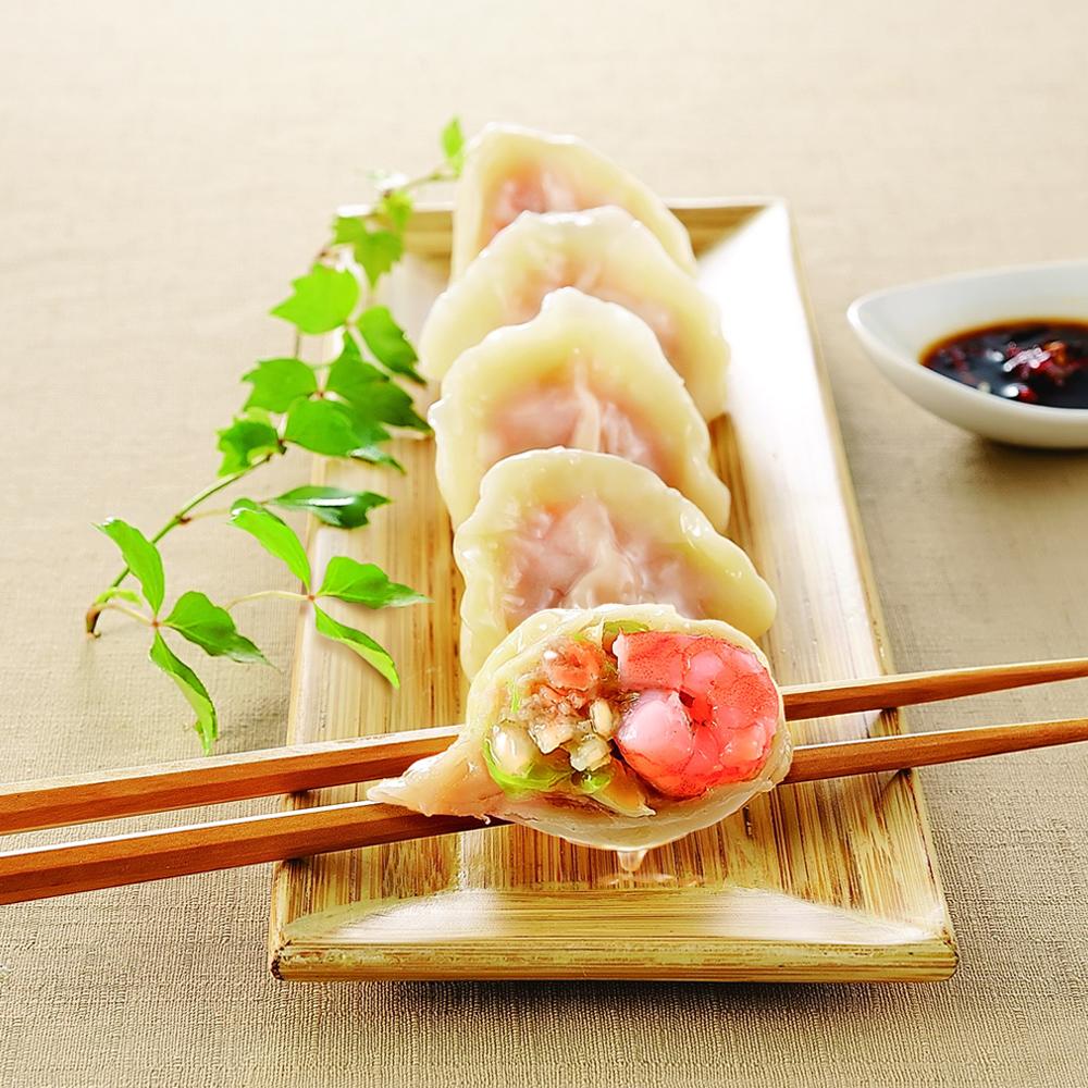 梁幼祥 鮮蝦高麗菜水餃(60粒)