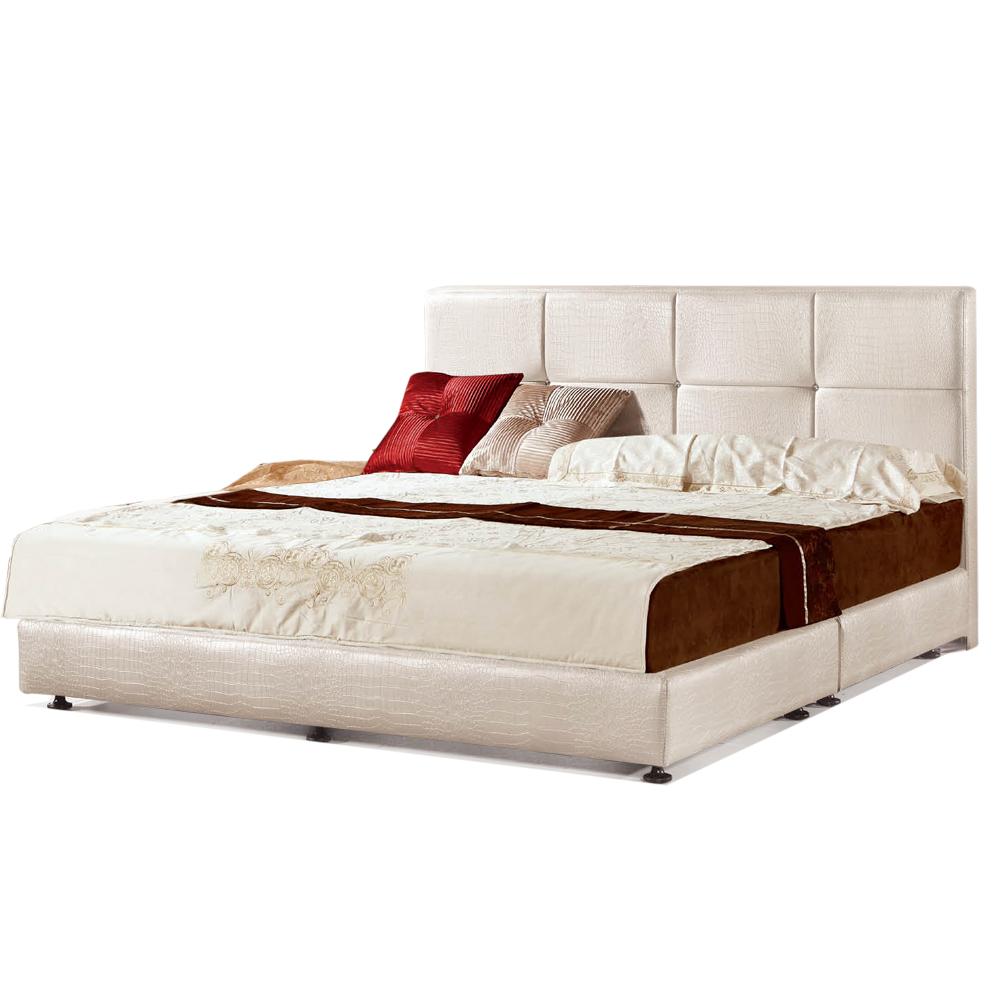 【ROSA羅莎】海傑林白鱷5尺雙人床(不含床墊)