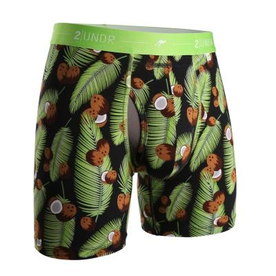 四角內褲 Day Shift 舒棉透氣排汗四角內褲(6吋)-熱帶椰子 2UNDR