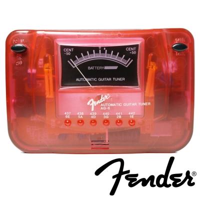 FENDER AG6 數位式調音器 (紅色)