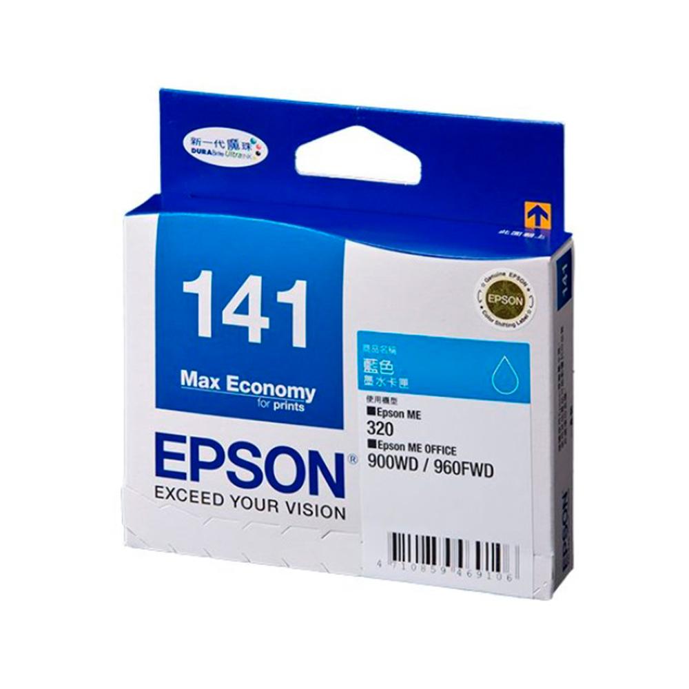 EPSON NO.141 原廠藍色墨水匣(T141250) @ Y!購物