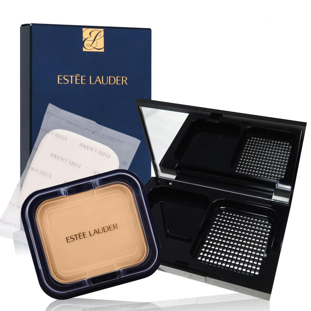 【真品平輸】ESTEE LAUDER 粉持久超完美保濕粉餅 SPF14/PA++(11g)+粉盒