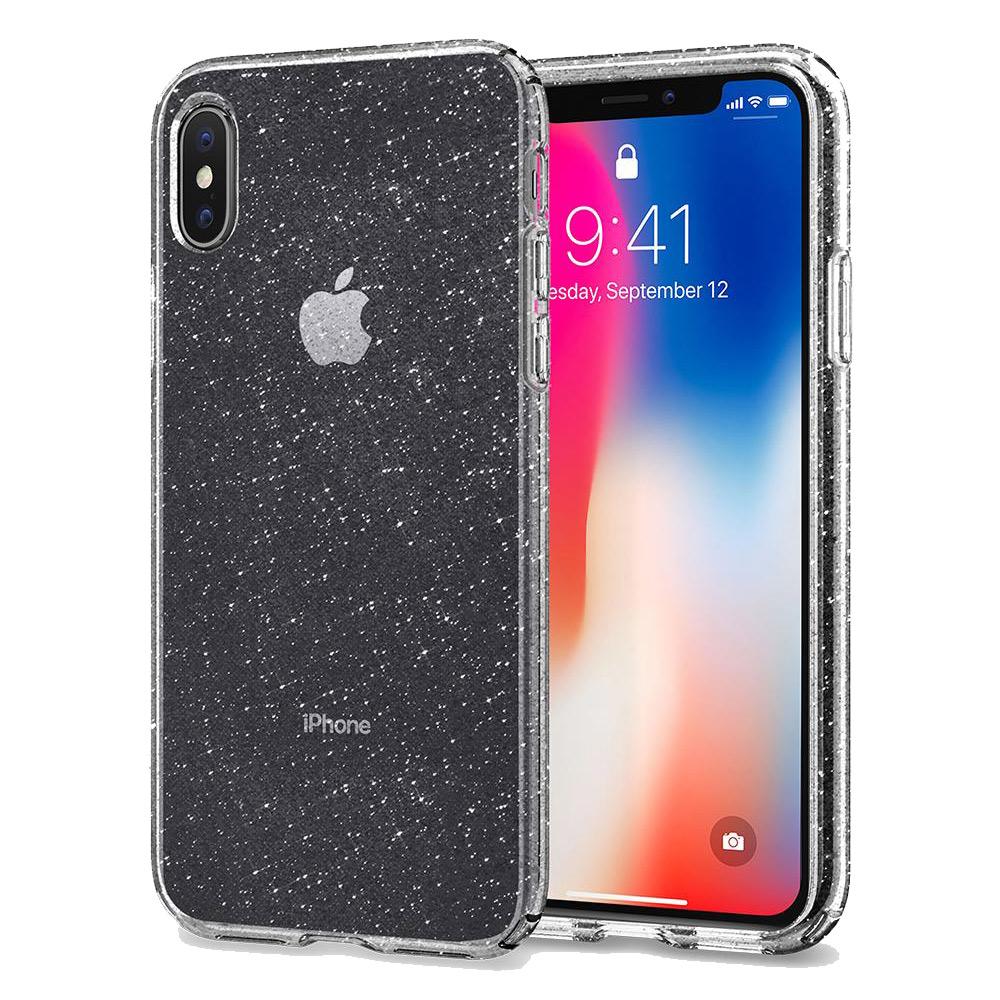 Spigen iPhone X Liquid Crystal超輕薄型彈性保護殼