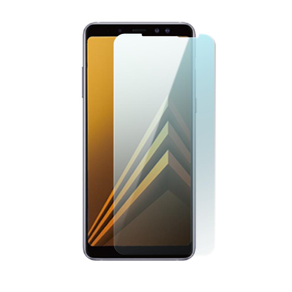 Samsung Galaxy A8+ 疏水疏油超硬9H鋼化玻璃保護貼(2018新款)