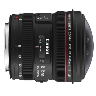 Canon EF 8-15mm f/4L fisheye USM 魚眼鏡頭  (平行輸入)