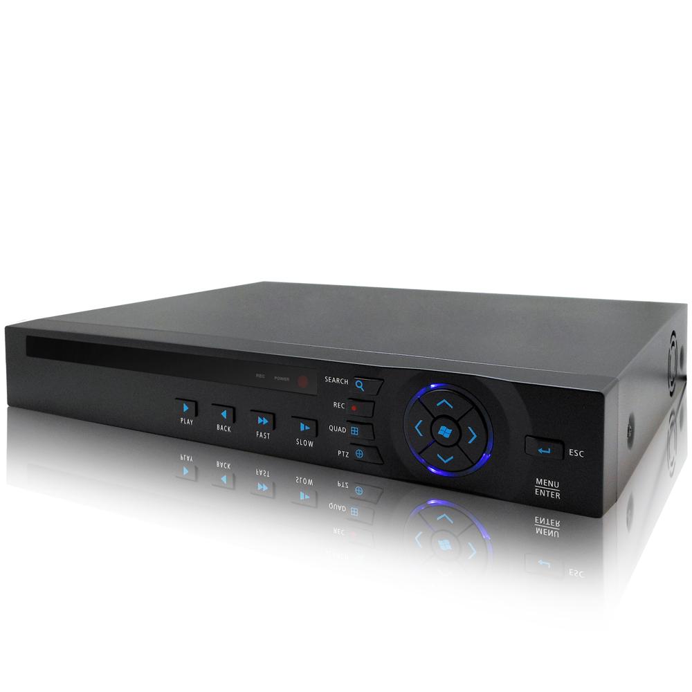 奇巧 8路4聲 五合一 AHD TVI CVI 1080P雙硬碟款混搭型數位監控錄影主機