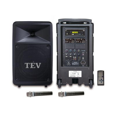 TEV DVD/CD/USB/SD雙頻無線擴音機 TA780D-2