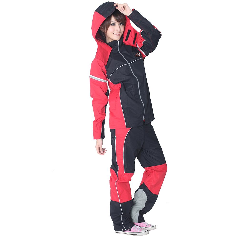 BrightDay風雨衣兩件式 - MIT蜜絲絨重機款 @ Y!購物