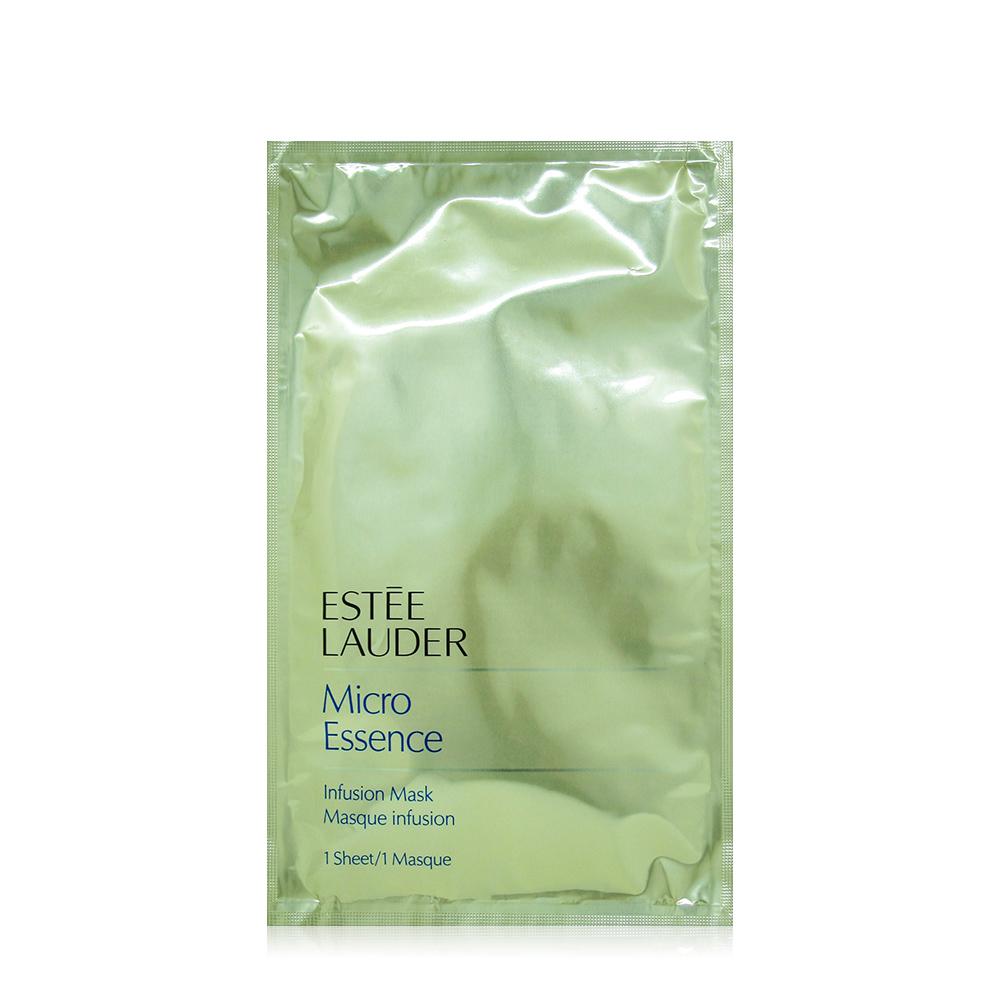 EsteeLauder 雅詩蘭黛 微分子晶透面膜 /片 x1片 送隨機專櫃化妝包
