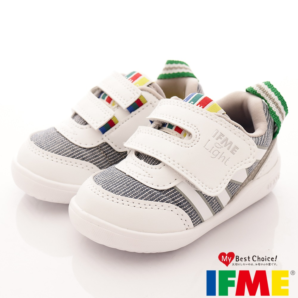 IFME健康機能鞋 輕量包覆學步款 EI00199 白 (寶寶段)