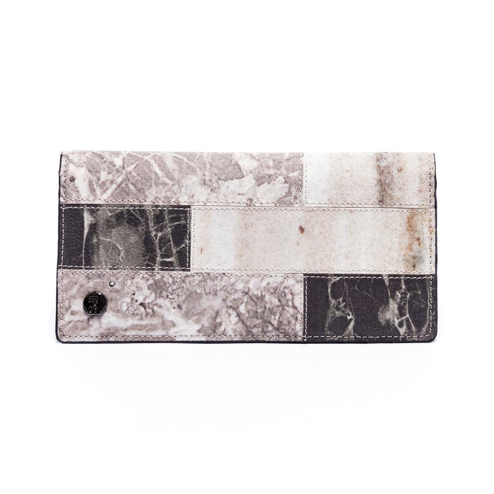 IPC 石紋拼接-簡易長夾