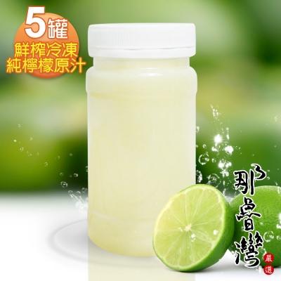 那魯灣 鮮榨冷凍純檸檬原汁 5罐(230g/罐)