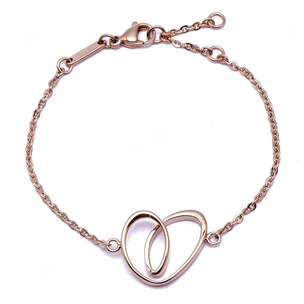 CK Calvin Klein  Jewellery WARM 溫情系列愛戀湧現玫瑰金手鍊