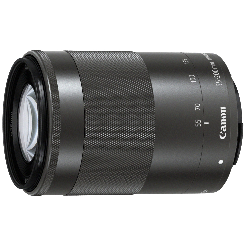 CANON EF-M 55-200mm F4.5-6.3 IS STM (平輸白盒) 黑色