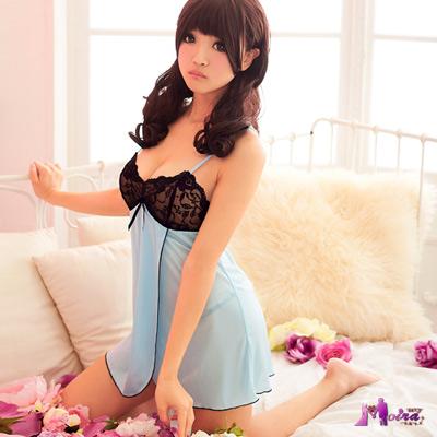 【Moira】水漾甜心!側開襟睡襯裙