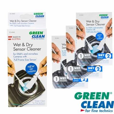 GREEN CLEAN 乾濕全幅尺寸清潔棒3入SC-6060