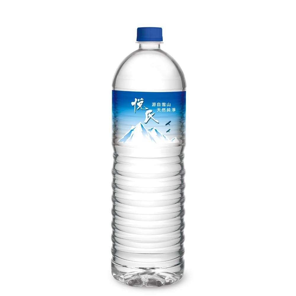 悅氏 礦泉水(1500mlx12入)