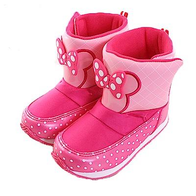 迪士尼米妮魔鬼貼童靴 桃 sh0015 魔法Baby