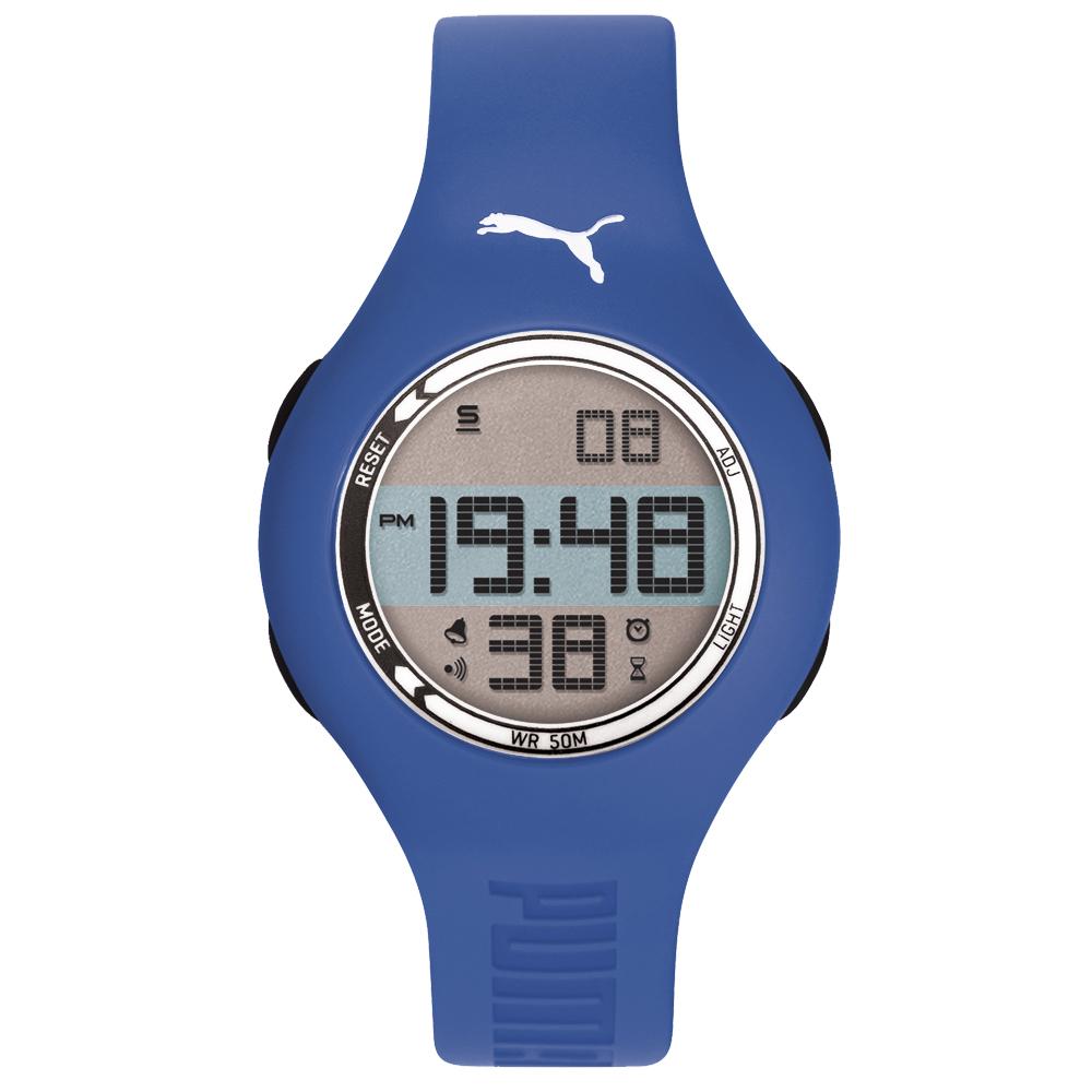 PUMA 陽光信號電子腕錶-PU910912018/45mm