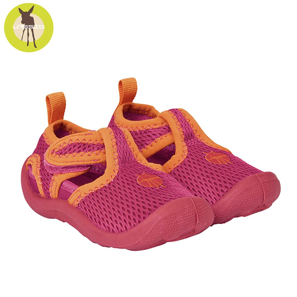 德國Lassig-嬰幼童透氣快乾輕量沙灘涼鞋-小紅莓