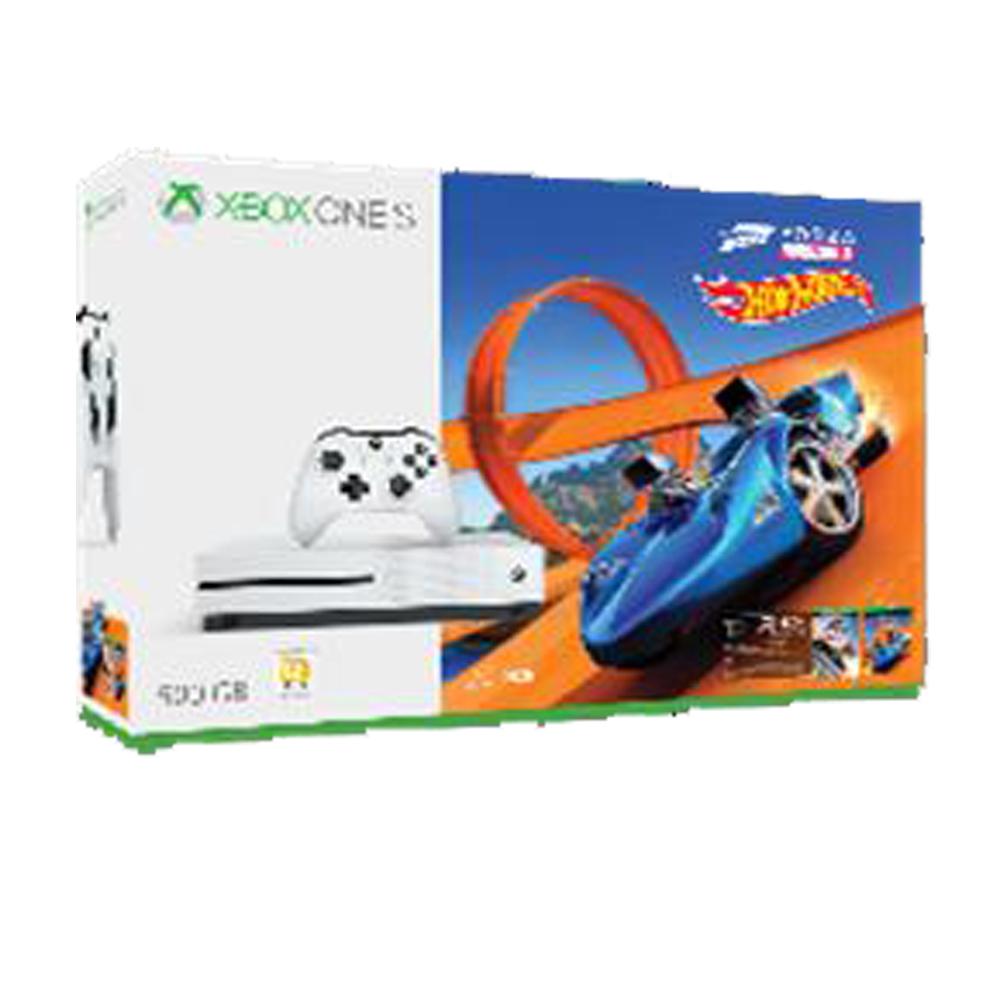 Xbox One S 500GB極限競速地平線3風火輪同捆組