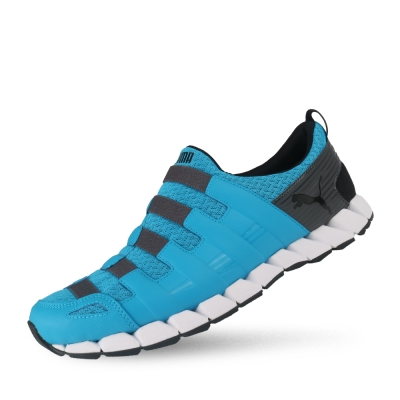 PUMA Osu v4 男性慢跑運動鞋-河青藍