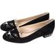 Charlotte Olympia Kitty Studs 貓咪鉚釘平底鞋(黑) product thumbnail 1
