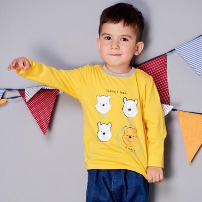 Disney baby 維尼系列百變長袖上衣 (共2色)