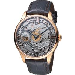 TISSOT T-Classic 羅馬鏤空手動上鍊機械腕錶(T0994053641800)