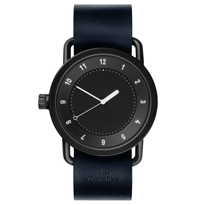 TID Watches No.1 Black-TID-W100-NVW/40mm
