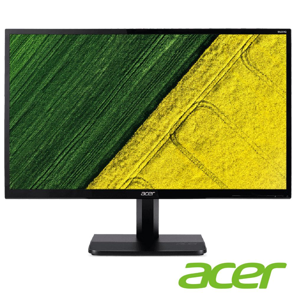 acer KA251Q A 25型 薄邊框電腦螢幕(福利品)