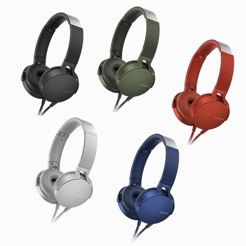 SONY MDR-XB550AP 頭戴式耳麥-重低音手機用可通話