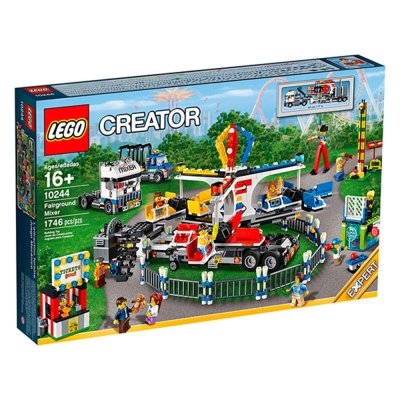 LEGO樂高 特別版CREATOR系列10244 遊樂園嘉年華