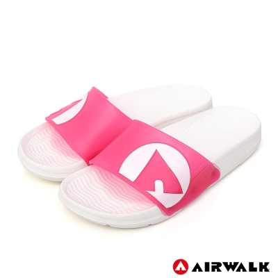 AIRWALK - 水漾果凍AB拖-桃紅