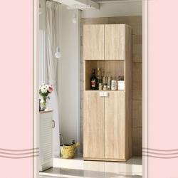 凱曼 布萊德2尺木紋高鞋櫃玄關櫃