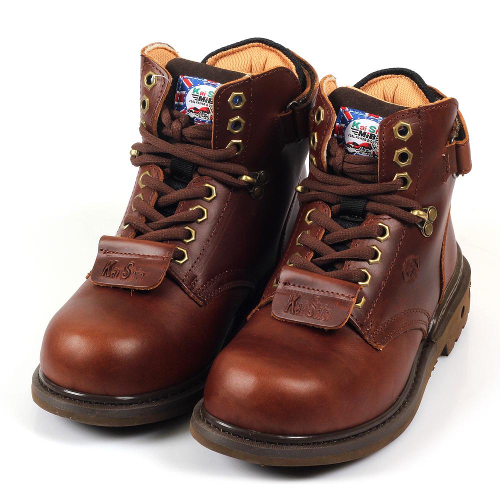 Kai Shin 高筒安全工作鞋 深咖啡 MGU532A03-KP