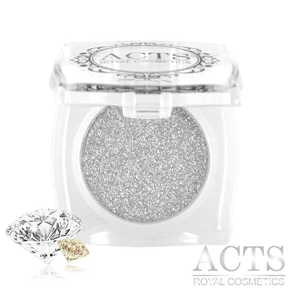ACTS維詩彩妝 魔幻鑽石光眼影 銀灰晶鑽D721