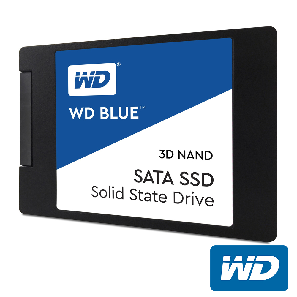 WD 藍標SSD 500GB 2.5吋 3D NAND固態硬碟