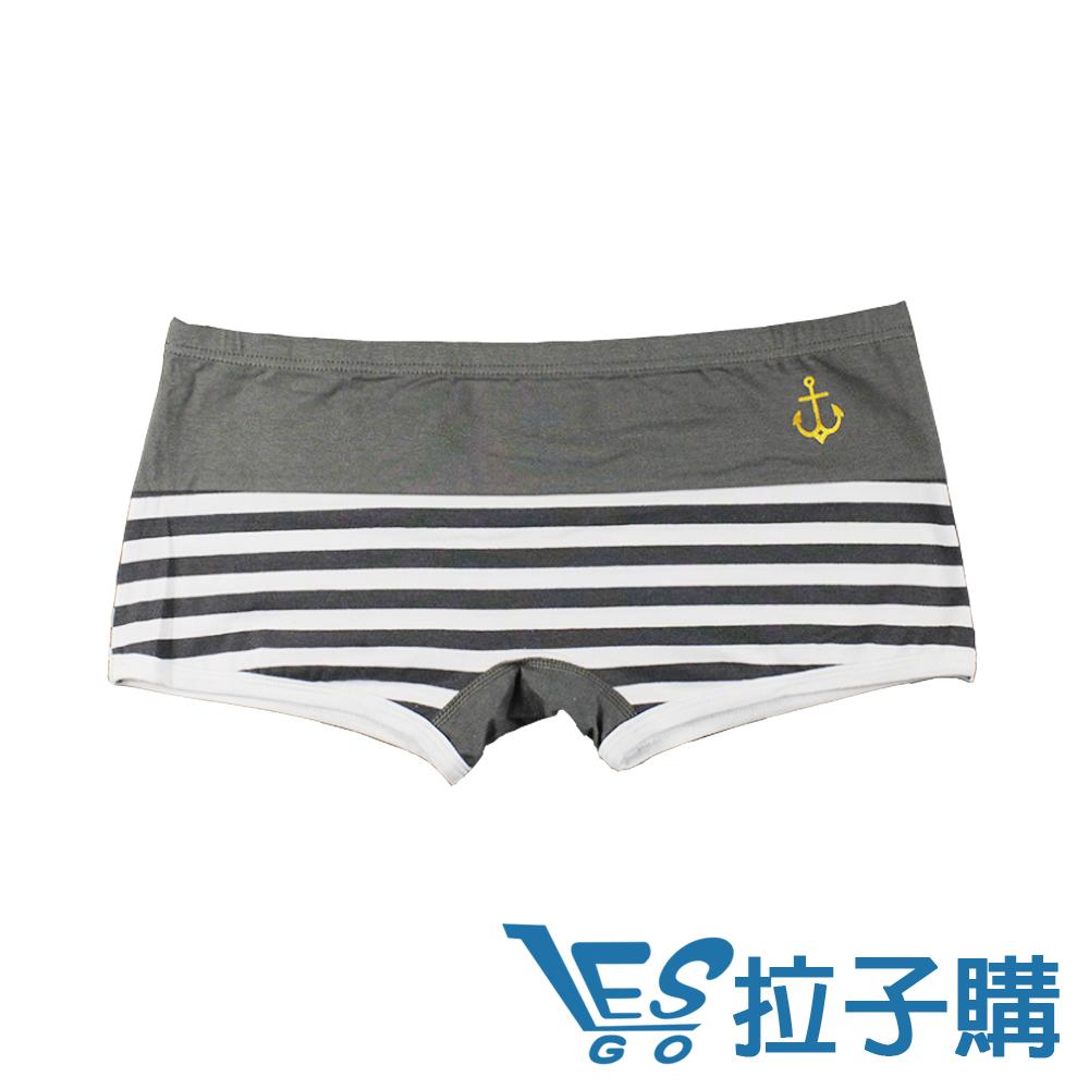 內褲 Navy.L海軍平口細條紋內褲 LESGO內褲