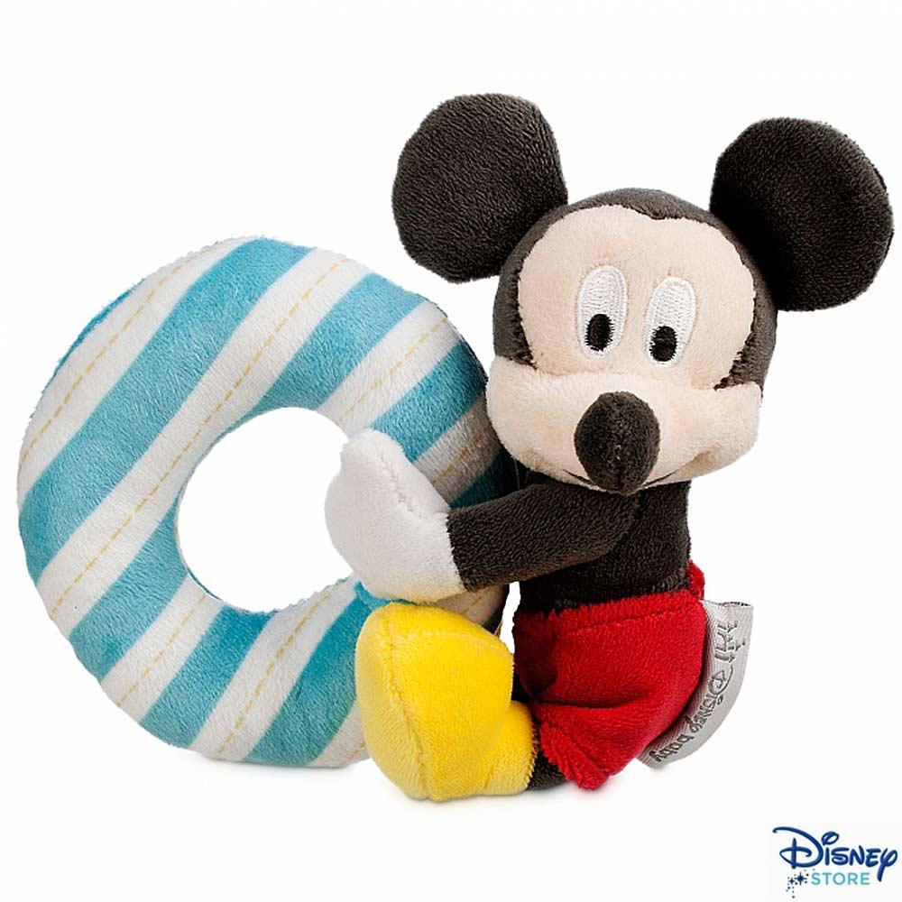 Disney 迪士尼米奇絨毛搖鈴安撫玩具