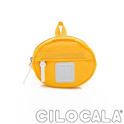 CILOCALA 亮彩尼龍防潑水MINI TAMAGO側背包(迷你)  黃色
