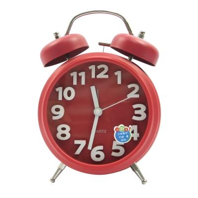 簡約靜音立體造型打鈴圓鐘