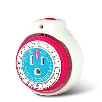 JR-1126 24小時機械式省電定時器 省電高手,時分得益(2入)