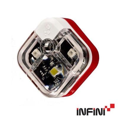 《iNFiNi》I-220W 前後燈 白光/紅光 紅
