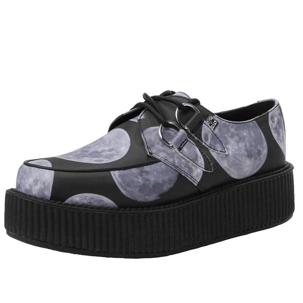 TUK VIVA 輕量暮光龐克鞋-5CM-黑