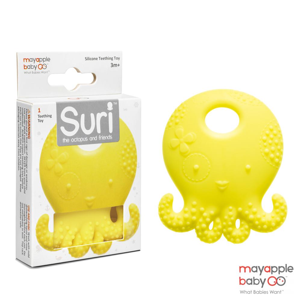 美國 Mayapple Baby 航海固齒器玩具-章魚系列 (2種款式)